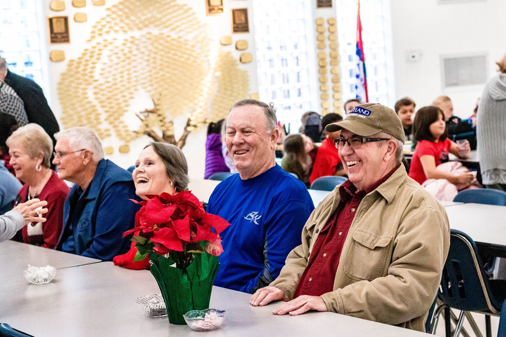 Bald Knob Serves Retirees at Luncheon