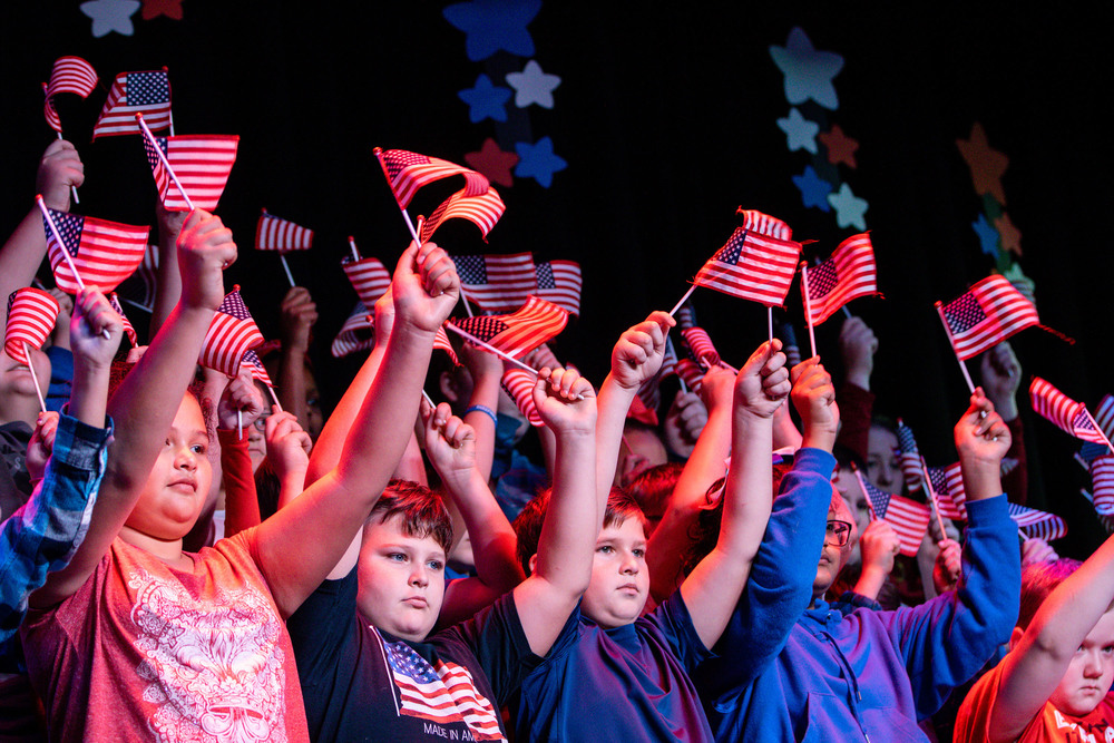 Elementary Celebrates Veterans Day