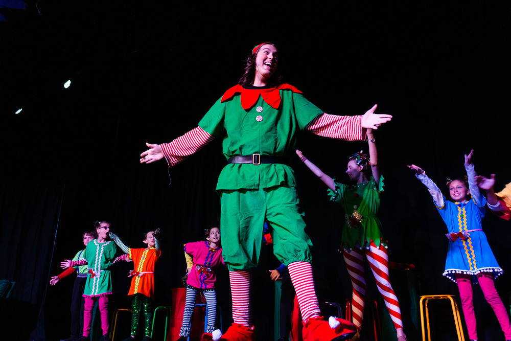 Elf, The Musical JR, Premieres on Thursday