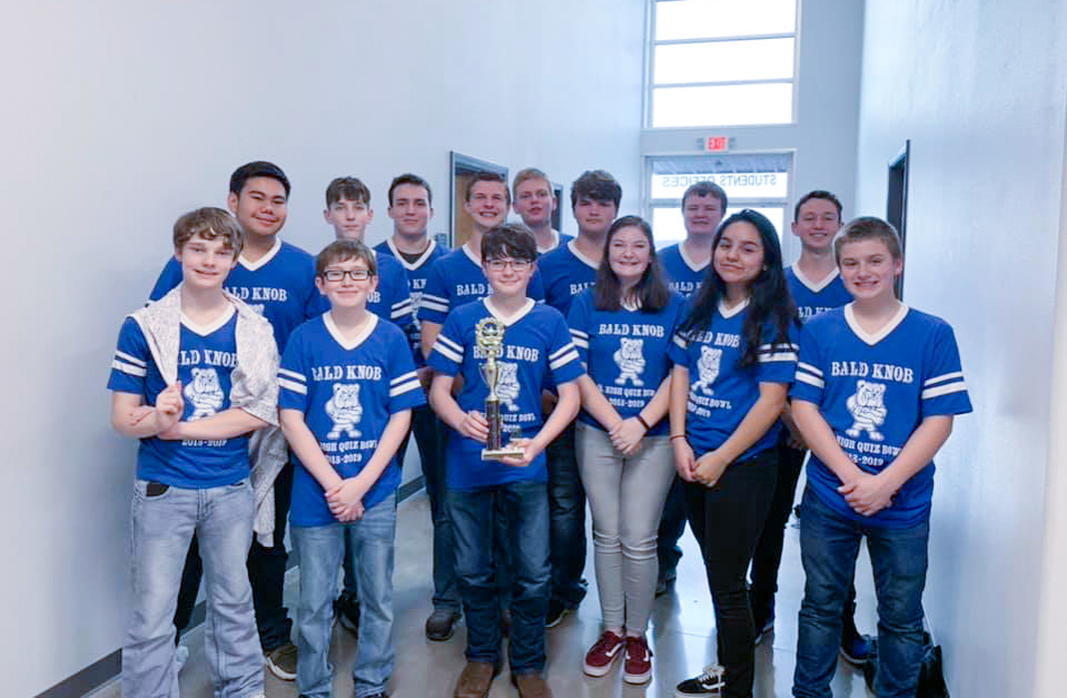 Junior High Quiz Bowl Concludes Successful Season