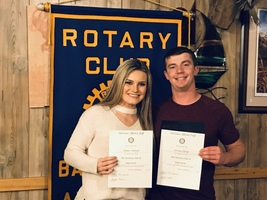 Rotary Students of the Month for November